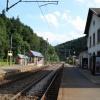 Der Bahnhof von Clervaux