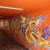 Graffiti in der Unterführung, yeah!