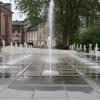 Erfrischender und moderner Brunnen