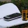Ausrüstung: GPS-Logger, Handy mit Koordinatenumrechner und Notizblock