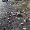 Das einzige Mal, dass Müll rumlag