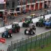 Demonstration der Landwirte...