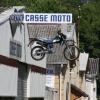 Motorradladen-Werbung