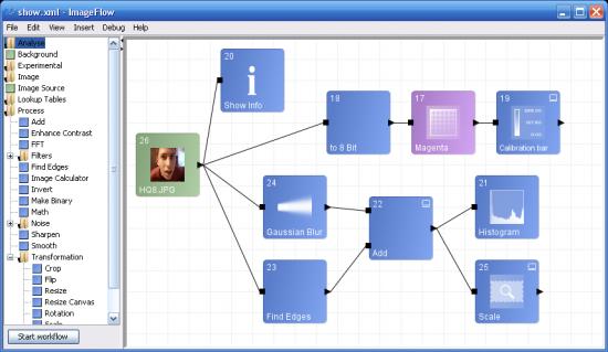 ImageFlow Screenhot