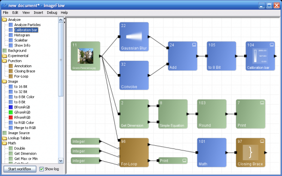 ImageFlow Screenshot