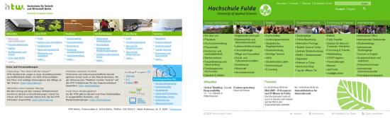 Homepage HTW Berlin - FH Fulda