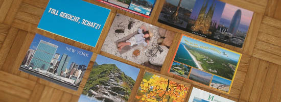 Postkarten nach Luxembourg