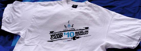 WordCamp 2010 T-Shirt